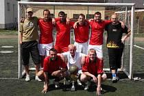 Vítěz 15. Ligového poháru: Knockout 83 team.