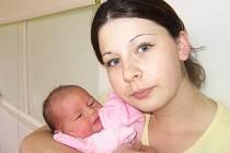 Domů do Svatého Pole si své první štěstíčko – dcerku Lindu Heberleinovou, která se narodila v sobotu 1. listopadu a v ten den vážila 3,14 kg a měřila 48 cm, odveze maminka Veronika spolu s tatínkem Davidem.