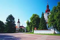 Náměstí v Petrovicích