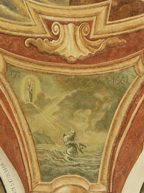 Sto svatohorských milostí: obraz číslo 97.