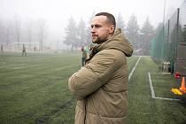 Zimní přípravu prvoligových fotbalistů Příbrami pozorně sleduje i ředitel klubu Jan Starka.