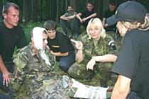 Policejní kadeti měli dvoudenní výcvik v Brdech