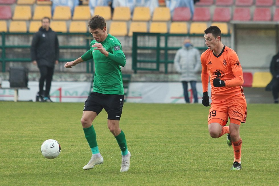 Ze zápasu 9. kola FORTUNA:LIGY mezi Příbramí a Mladou Boleslaví