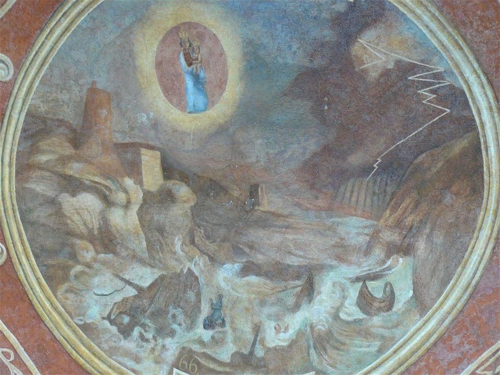 Sto svatohorských milostí: obraz číslo 66.