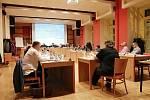 Zasedání příbramského zastupitelstva.