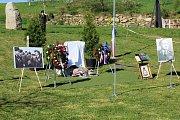 V Kosově Hoře nese park jméno velitele čs. bombardovací peruti