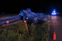 Smrtelná nehoda u Voznice.