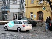 Policie vyšetřuje nahlášenou výbušninu v centru Příbrami.
