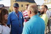 V Příbrami se už potřetí demonstrovalo proti výměně na pozici ministra spravedlnosti i proti premiérovi Andreji Babišovi. Tentokrát demonstranty podpořil i herec Pavel Nový.