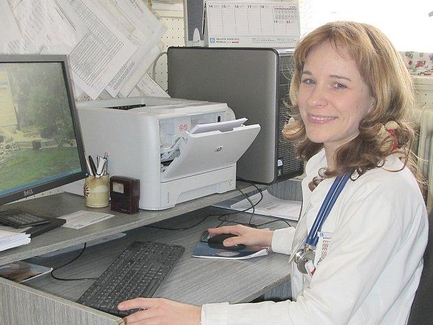 Dětská lékařka příbramské nemocnice Lenka Smíšková.