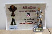 Vedení Spartaku Příbram na valné hromadě zhodnotilo uplynulý rok, představilo plány do budoucna a ocenilo nejlepší hráče.