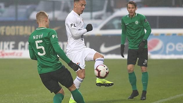 V 17. kole FORTUNA:LIGY prohrála Příbram s Baníkem Ostrava 0:2.