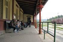 Vlakové nádraží v Příbrami
