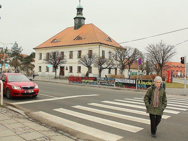 Radnice v Dobříši.