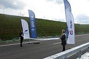 Slavnostní otevření prodloužené dálnice D4.