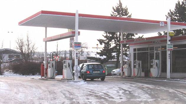 Benzina Příbram - Brodská ulice