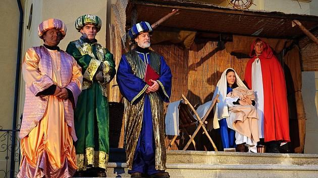 Tři králové zavítali do Příbrami.