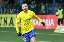 Zlínský fotbalista Antonín Fantiš.