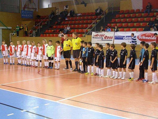Ve finále třídenního turnaje přípravek se utkaly Slavia Praha a Dalnoki Akadémia.