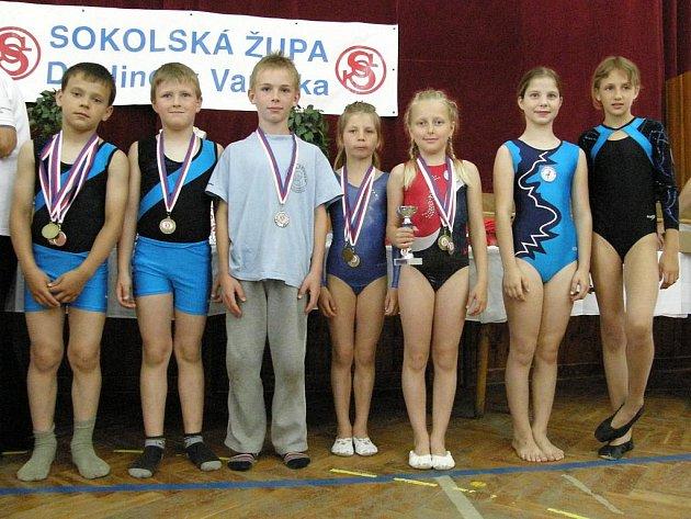 Závodníci Sokola Příbram.