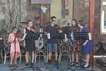 Z koncertu žáků hudebních oborů Základní umělecké školy Antonína Dvořáka v Příbrami.
