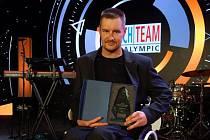 Jan Tománek s cenou pro čtvrtého nejlepšího handicapovaného sportovce České Republiky za rok 2018.