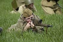 Připomínka bitvy na Slivici z konce druhé světové války.