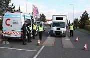 Policie se koncem týdne zaměřila na nákladní vozy.