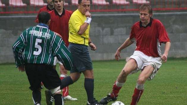 KP mužů: Sp. Příbram - Čl Union Beroun (2:0).