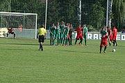 Divizní derby Tatran Sedlčany - MFK Dobříš 0:4.