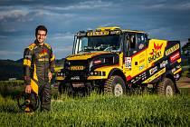 Martin Macík představil nový závodní stroj určený pro Dakar 2020.