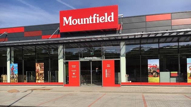Nová prodejna Mountfieldu v Příbrami.