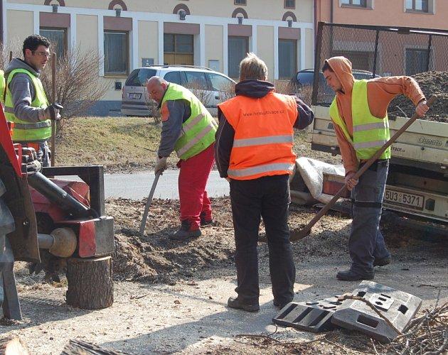 Revitalizace v Milínské ulici a okolí Nového rybníku