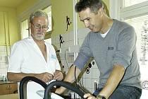 Otevření ambulance sportovní medicíny v příbramské nemocnici.