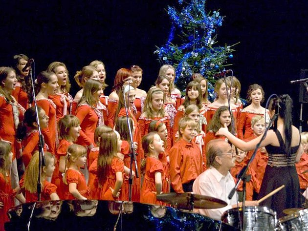 Koncert Big Bandu Příbram v loňském roce v Příbrami.