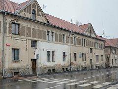 Březnická ulice v Příbrami.