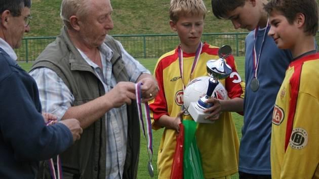 Žákovský turnaj Slivice 2008.