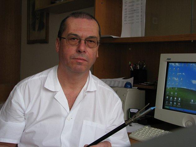 Primář chirurgického oddělení Jan Fanta
