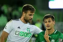 Tomáš Wágner (vlevo) s Ruslanem Mingazovem.