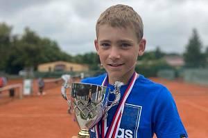 Tomáš Krejčí je velkou nadějí českého tenisu.