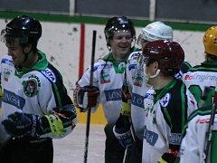 Čtvrtfinále: HC Příbram - Junior Mělník.