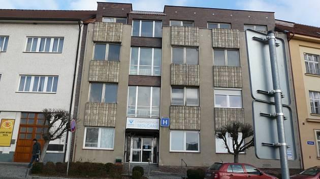 Nemocnice v Sedlčanech.