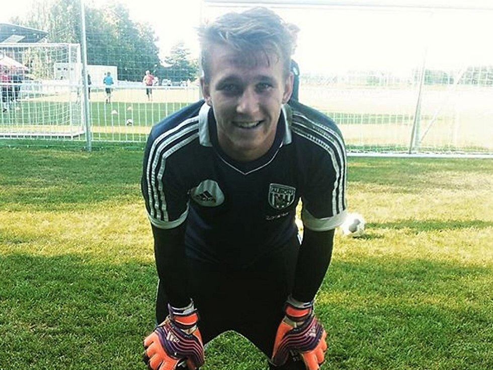Fotbalový brankář Jan Šedivý.