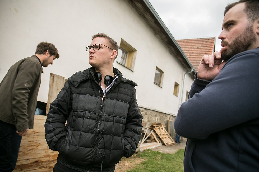 Natáčení nového seriálu České televize Poldové a nemluvně