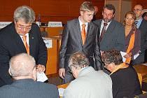 V Příbrami si v pondělí volili starostu, místostarosty a členy městské rady.