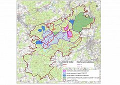 Mapa Brd, pyrotechnický průzkum a návrhy tras.