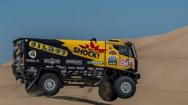 Ve třetí etapě se jezdcům Big Schock Racing dařilo. Pořadím opět postoupili vzhůru foto: Big Shock Racing