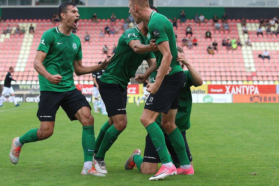 1. FK Příbram - FK Jablonec 4:0.