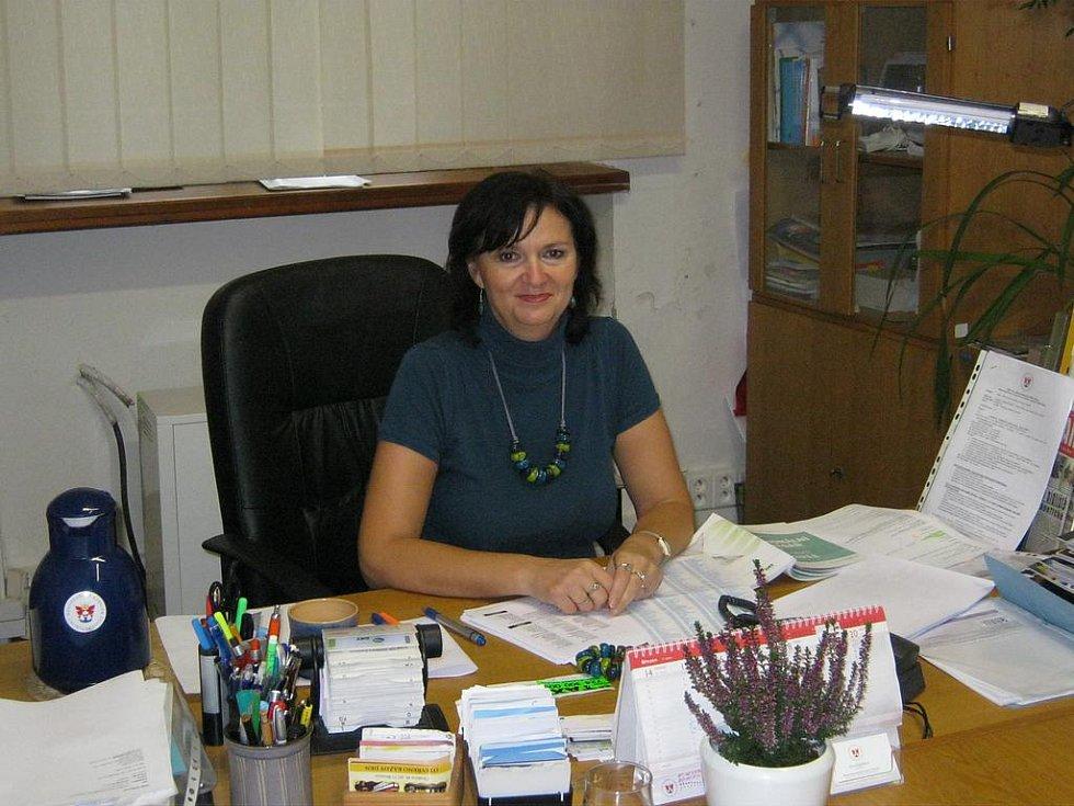 Ředitelka Okresní hospodářské komory Irena Karpíšková.
