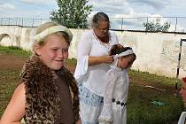 Letní tábor Farní charity Příbram na Slivici u Milína.